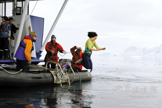720,华附17名学生赴南极考察每人花费15万(羊城晚报,转) - 数学特级教师李兴怀 - 华师附中数学教育工作室