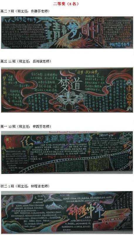 年华南师大附中国庆墙报比赛结果